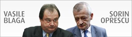 Vasile Blaga vs. Sorin Oprescu