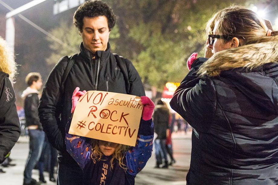 Oamenii de la protestul #Colectiv
